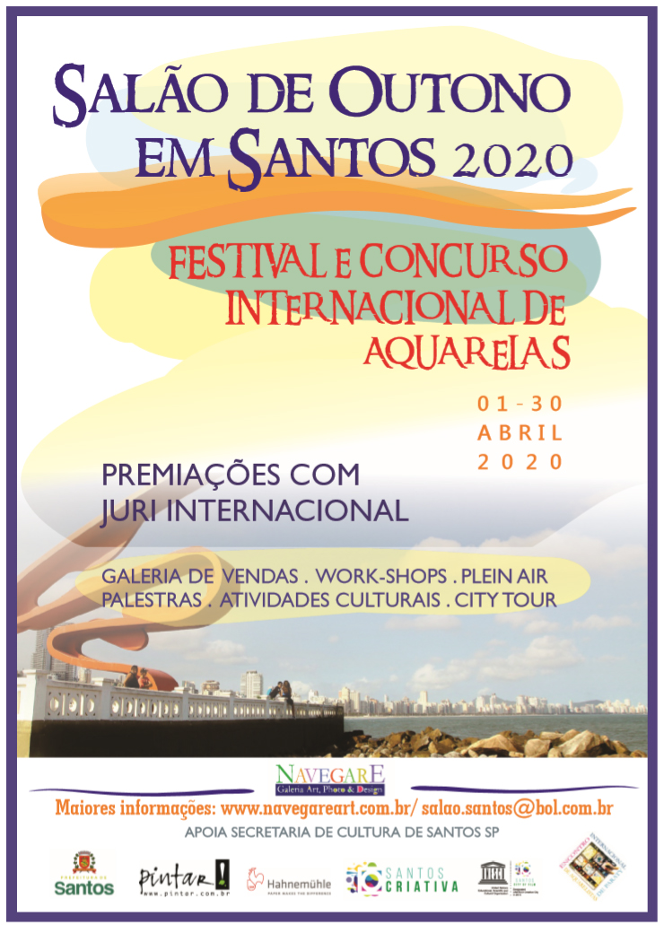 Salão de Outono em Santos